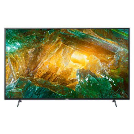 نمای تلویزیون سونی 65 اینچ مدل 65X8000H از روبرو