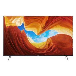 نمای تلویزیون سونی 65 اینچ مدل 65X9000H از روبرو