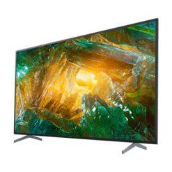 نمای تلویزیون سونی ۴۹ اینچ مدل 49X8000H از زاویه راست