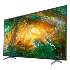 نمای تلویزیون سونی 75 اینچ مدل 75x8000h از زاویه راست
