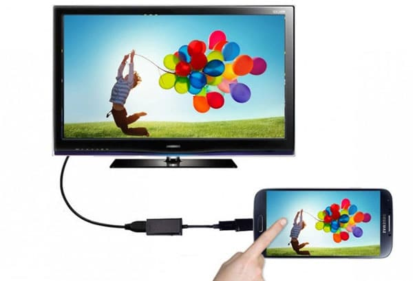 انتقال تصویر گوشی به تلویزیون با HDMI