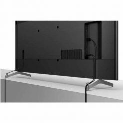 نمای پشتی و جای گذاری کابل ها در تلویزیون سونی ۸۵ اینچ مدل 85X9000H