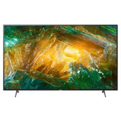 نمای تلویزیون سونی ۴۹ اینچ مدل 49X8000H از روبرو