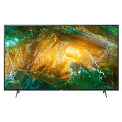 نمای زیبای تلویزیون سونی 75 اینچ مدل 75x8000h از روبرو