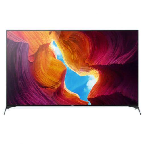 نمای تلویزیون سونی 55 اینچ مدل 55X9500H از روبرو
