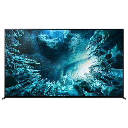 نمای زیبای تلویزیون سونی 75 اینچ مدل 75Z8H از روبرو