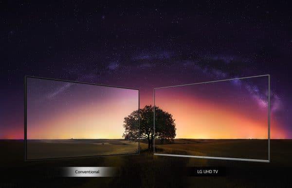 تلویزیون ال جی 49UN6900 با زاویه دید گسترده