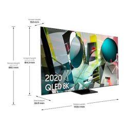 نمای تلویزیون سامسونگ 65 از زاویه چپ اینچ مدل 65Q950TS