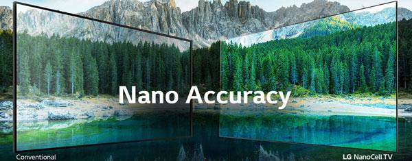 تلویزیون ال جی 55NANO85UNA با فناوری نانوسل