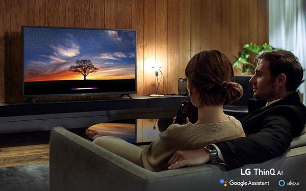 تلویزیون هوشمند ال جی 43UN7370
