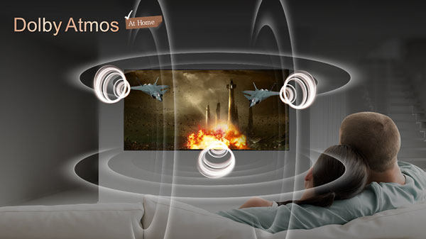 فناوری دالبی اتموس تلویزیون ال جی 75NANO85UNA