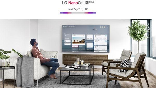 تلویزیون ال جی 75NANO97UNA با سیستم عامل WebOS