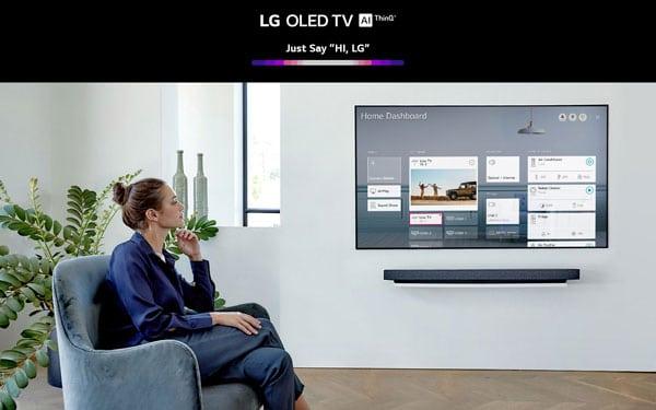 تلویزیون هوشمند ال جی مدل 77WXPUA