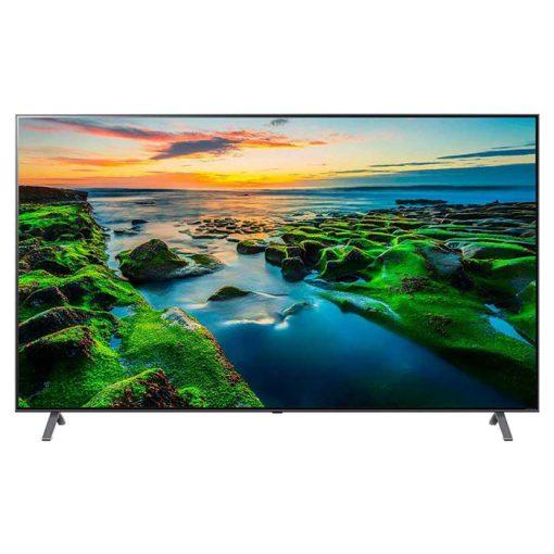 نمای زیبای تلویزیون ال جی 75 اینچ مدل 75NANO99 از روبرو