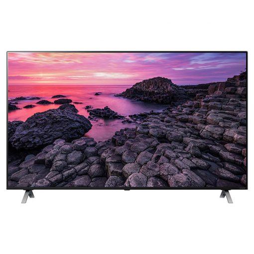 طراحی زیبای تلویزیون ال جی 75 این مدل 75NANO90 از روبرو
