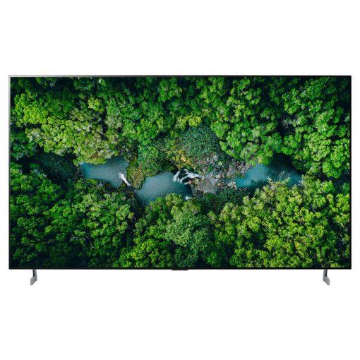 نمای زیبای تلویزیون ال جی 77 اینچ مدل 77ZX از روبرو