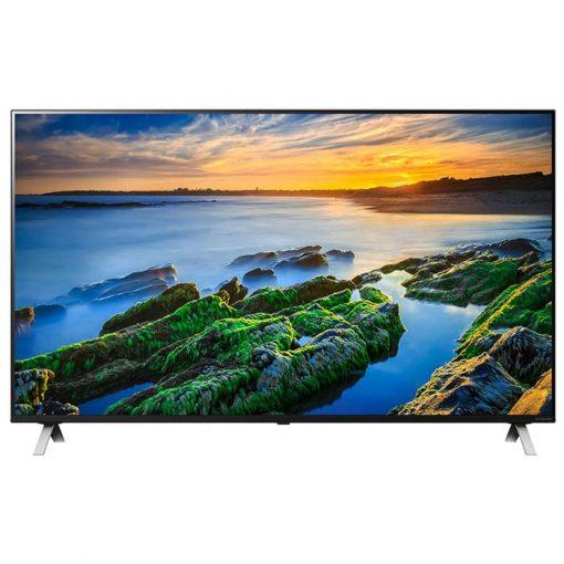 طراحی زیبای تلویزیون ال جی 75 اینچ مدل 75NANO85 از روبرو