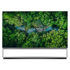 نمای تلویزیون ال جی 88 اینچ مدل 88ZX از روبرو