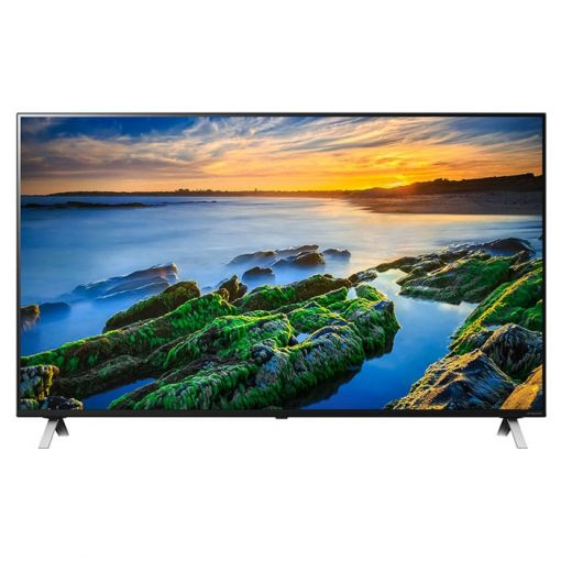 نمای روبروی تلویزیون ال جی 55 اینچ مدل 55NANO85
