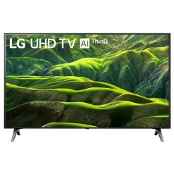 نمای زیبای تلویزیون ال جی 43 اینچ مدل 43UN6900 از روبرو