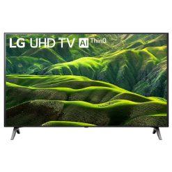نمای زیبای تلویزیون ال جی 49 اینچ مدل 49UN6900 از روبرو