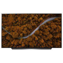 نمای تلویزیون ال جی 55 اینچ مدل 55CX از روبرو
