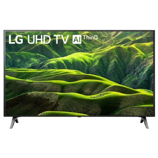 نمای تلویزیون ال جی 49 اینچ مدل 49UN7370 از روبرو