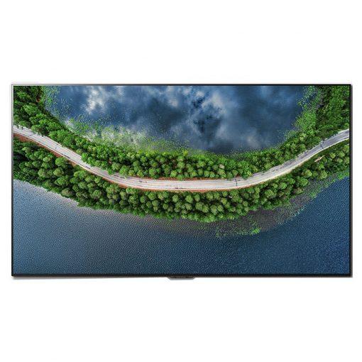 نمای تلویزیون ال جی 65 اینچ مدل 65GX از روبرو