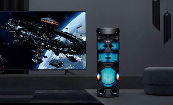سیستم صوتی بلوتوثی MHC-V82D سونی