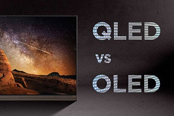 تفاوت تلویزیون OLED با QLED