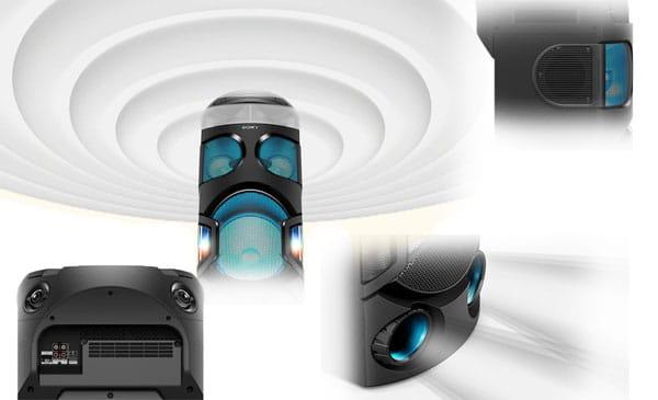 صدای فراگیر سیستم صوتی MHC-V82D
