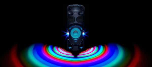 نورپردازی سیستم صوتی MHC-V42D