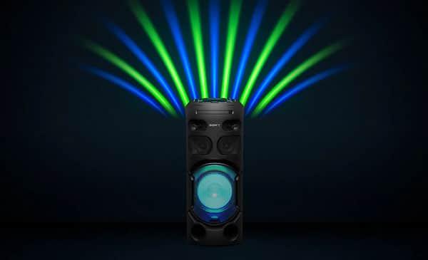 نورپردازی سیستم صوتی MHC-V41D