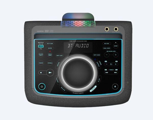 کنترل پنل سیستم صوتی سونی MHC-V50D