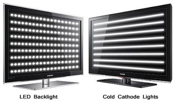 تفاوت تلویزیون LCD و LED
