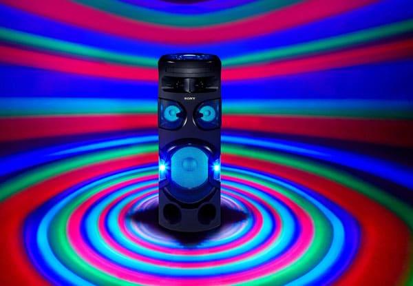 نورپردازی سیستم صوتی MHC-V72D