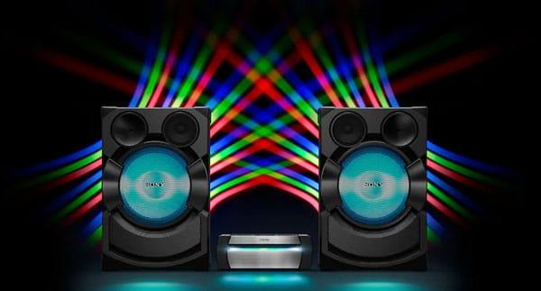 نورپردازی سیستم صوتی خانگی SHAKEX70P