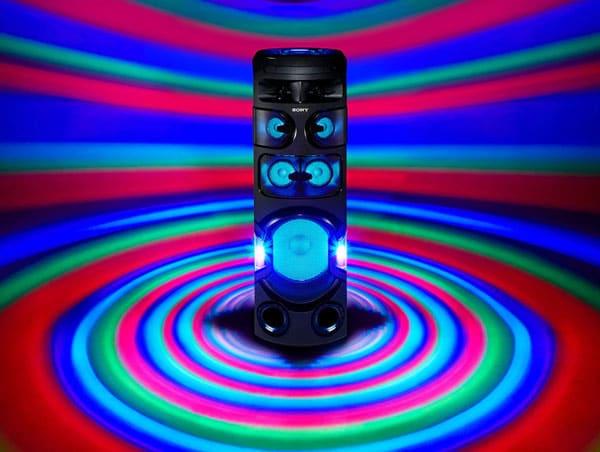 نورپردازی سیستم صوتی MHC-V82D