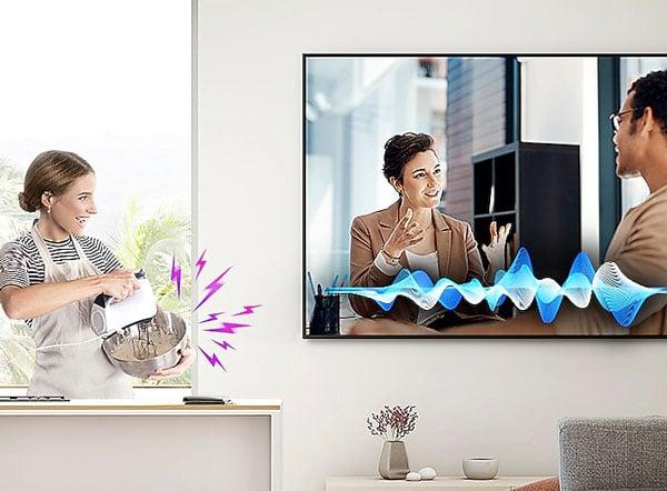 سیستم صوتی هوشمند تلویزیون سامسونگ 55Q70T