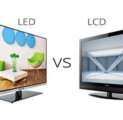 تفاوت تلوزیون ال سی دی و ال ای دی