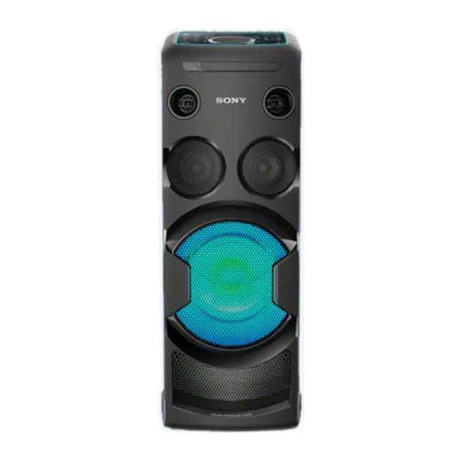 طراحی زیبای سیستم صوتی بلوتوثی MHC-V50D سونی