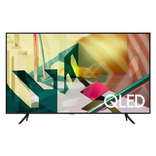 نمای زیبای تلویزیون سامسونگ 65 اینچ مدل 65Q70T از زاویه روبرو