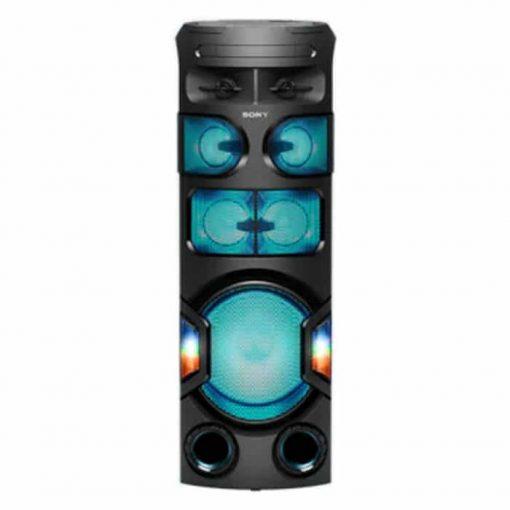طراحی زیبای سیستم صوتی بلوتوثی MHC-V82D سونی از جلو