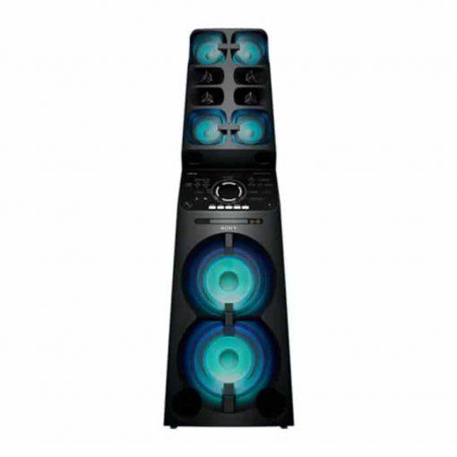 طراحی خشکل سیستم صوتی MHC-V90D سونی از روبرو