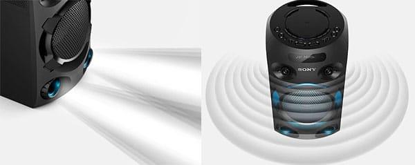 صدای فراگیر سیستم صوتی MHC-V02