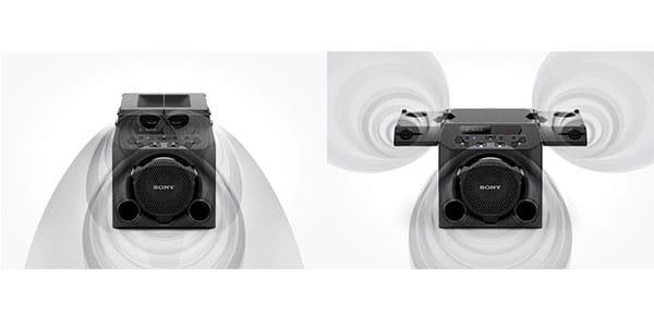 صدای فراگیر از اسپیکر سونی مدل GTK-PG10