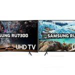 مقایسه تلویزیون سامسونگ ru7300 با ru7100
