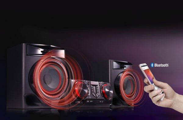 سیستم صوتی 480 وات ال جی مدل XBOOM CJ44