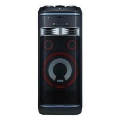نمای سیستم صوتی بلوتوثی و قابل حمل ال جی مدل XBOOM OK99 از روبرو