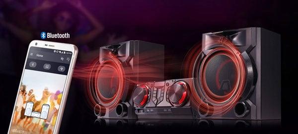 سیستم صوتی بلوتوثی ال جی مدل XBOOM CJ65
